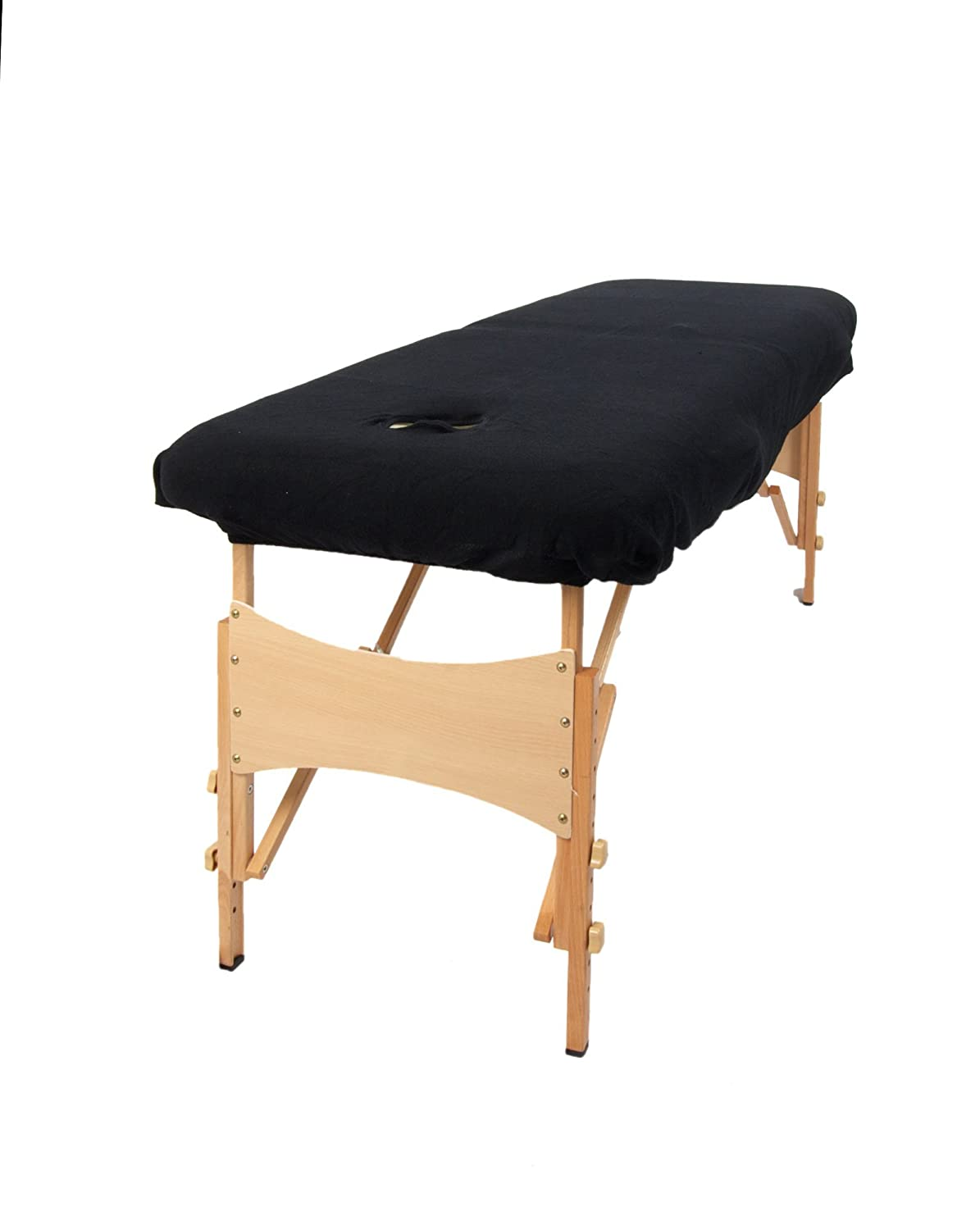 black product rehabzone lightweight massage bed portable