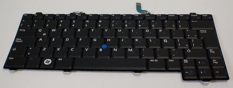 Aquamoon Trading New G076F Genuine OEM Dell Spanish Latin Latitude XT XT2 Laptop Notebook Keyboard Typing Board Teclado En Español para Computadora Portatil Model NSK-DA21E