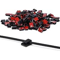Ninonly Clips de Cable 3M Adhesivo 200 pcs