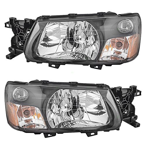 - Driver and Passenger Headlights Headlamps Replacement for Subaru 84001SA030 84001SA020 AutoAndArt