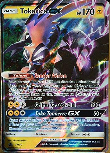 Carte Pokémon Sm50 Tokorico Gx Chromatique 170 Pv Promo Neuf Fr