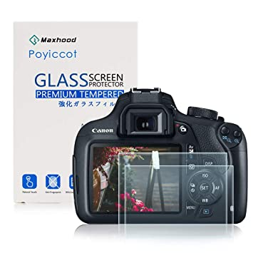 Buy Canon Eos Rebel T6 T5 1200d 1300d Tempered Glass Screen