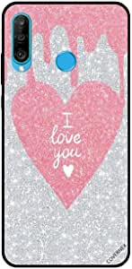 For Huawei P30 Lite Case Cover I Love You in Heart