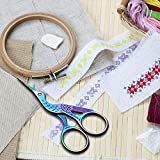 2 Pack Stork Scissors Embroidery Scissors Sewing