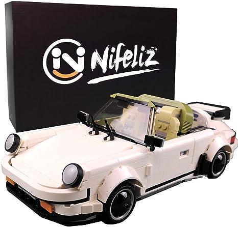 882 Pcs Adult Collectible Model Cars Set to Build 1:14 Scale Race Car Model Nifeliz Mini Sports Car Turbro MOC Building Blocks and Construction Toy