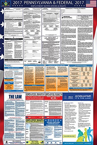 2017 Pennsylvania and Federal Labor Law Poster Updated