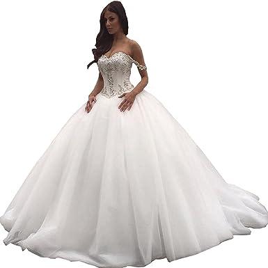 quality design ba383 3f085 Mingxuerong Lang Spitzen Hochzeitskleid Empire Stil ...