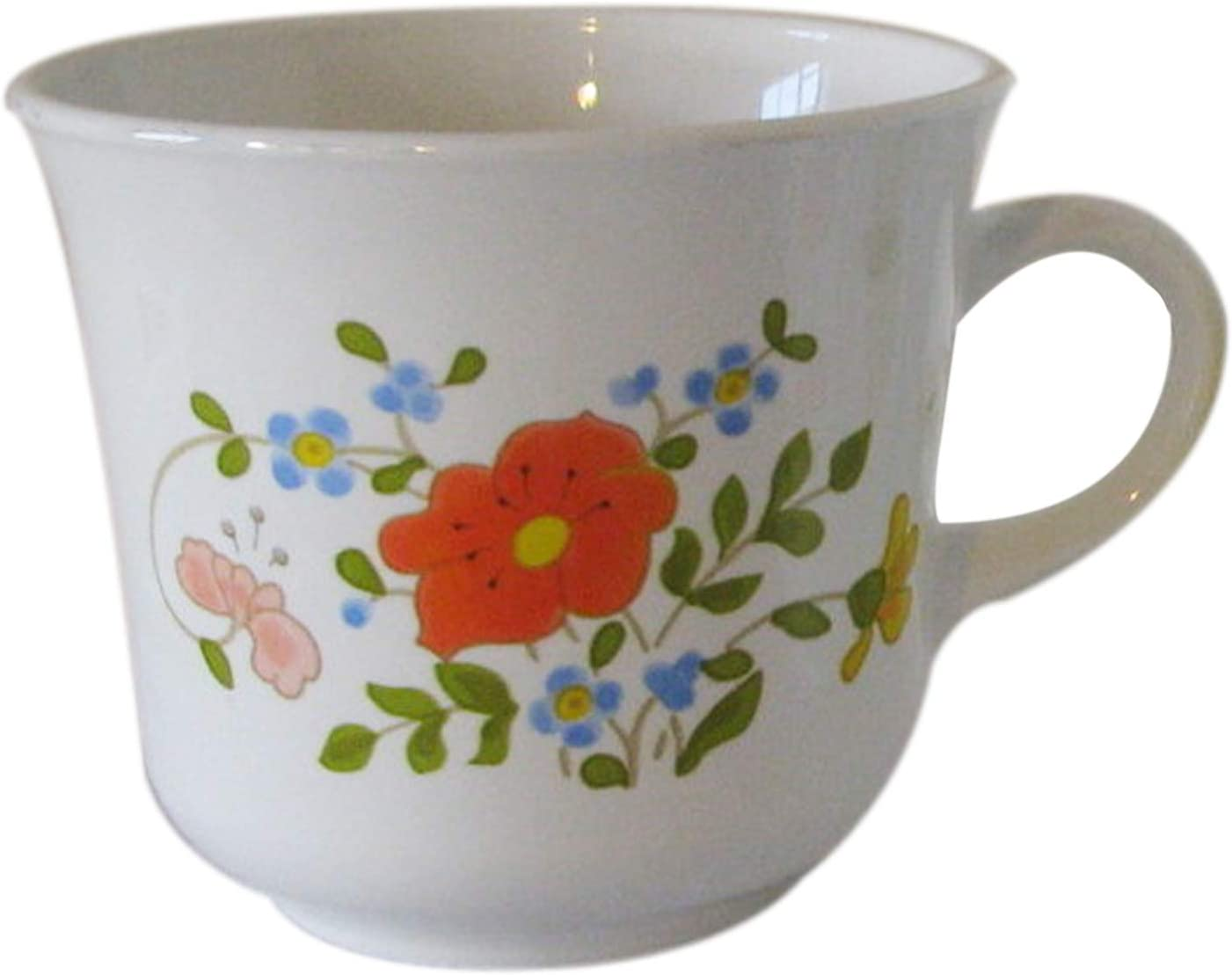 Corelle Expressions Mug Coffee Cup Wildflower Aka Spring Bouquet Kitchen Dining