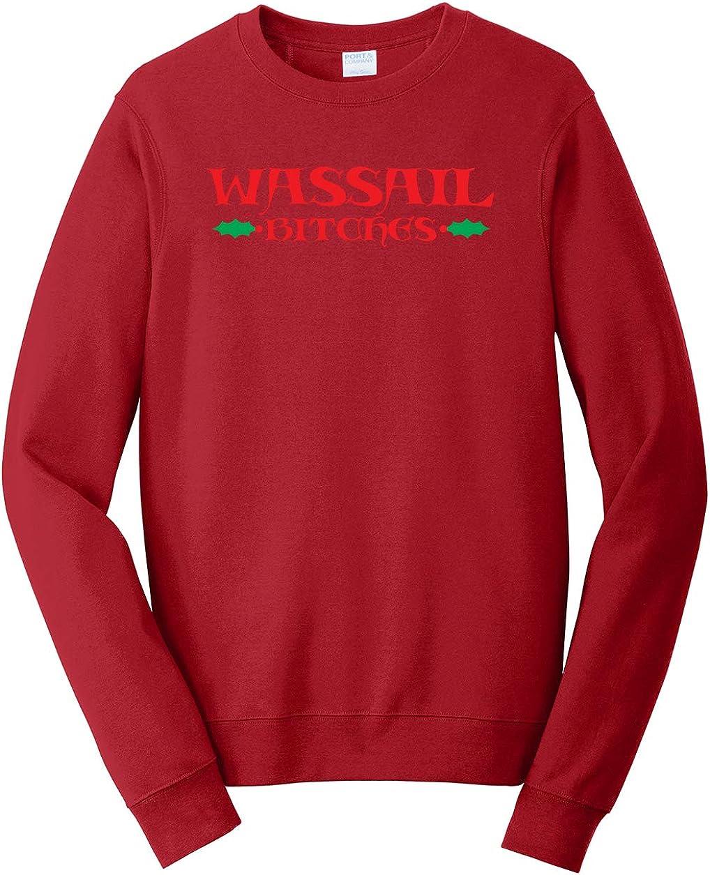 Tenacitee Unisex Wassail Bitches Sweatshirt