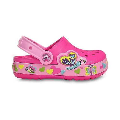 Crocs Crocband Rainbow nastro CLOG ZOCCOLI Pantofole Scarpe Giardino Scarpe