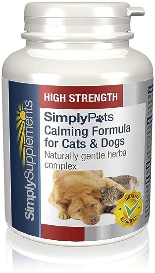 Fórmula Calmante (Perros/Gatos) | Alivia la ansiedad de las mascotas | 120