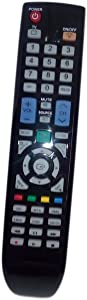 Replaced Remote Control Compatible for Samsung UN55B6000VF BN59-00856A LN32B650 LN32B530P7FUZA LN52A650A1RXZL LN40B540P8FXZC HL72A650C TV