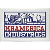 "CafePress - Kramerica Industries Rectangle Magnet - Rectangle Magnet, 2""x3"" Refrigerator Magnet"
