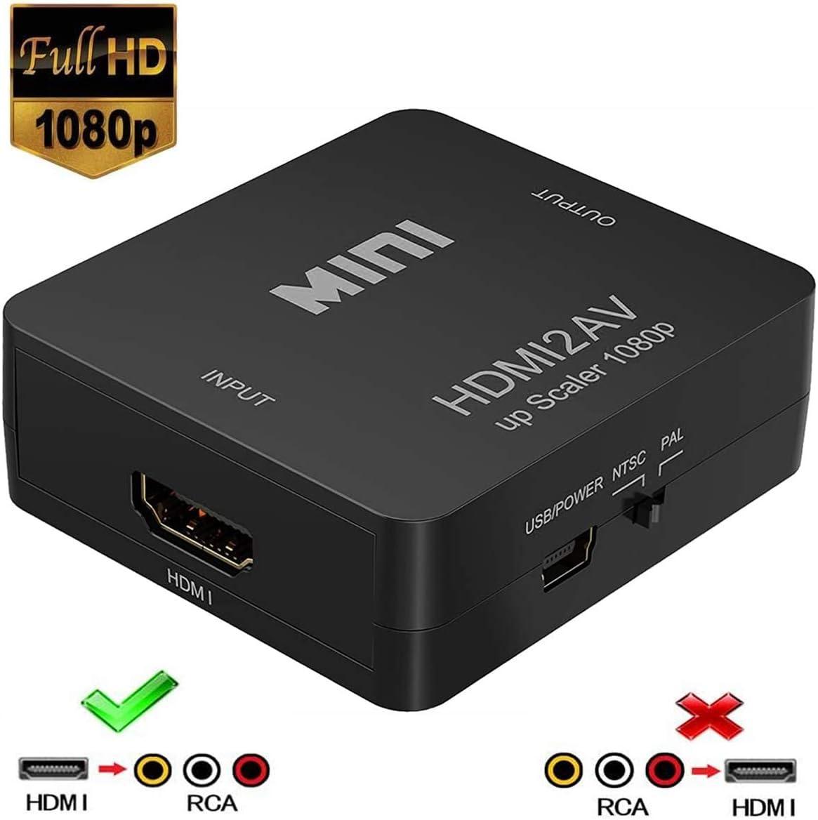 Convertitore da HDMI ad Analogico AV RCA