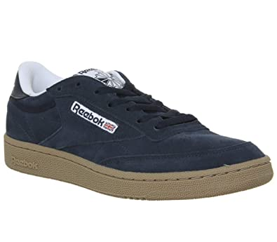 separation shoes 06925 39a8e Reebok Club C 85 Mu, Chaussures de Fitness Homme, Multicolore  (Indoor Collegiate