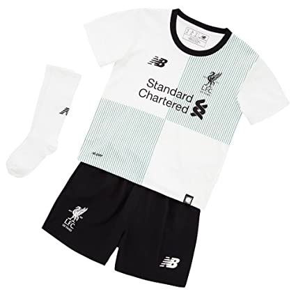 d2175d617 Image Unavailable. Image not available for. Color  New Balance 2017-2018  Liverpool Away Little Boys Mini Kit