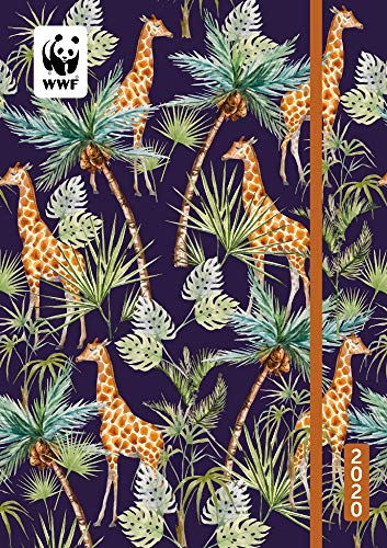WWF Giraffes Academic Planner School Calendar 2020 for sale  Delivered anywhere in USA