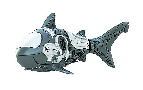 Goliath Toys 32528006 - Robo Fish Tiburón, color gris