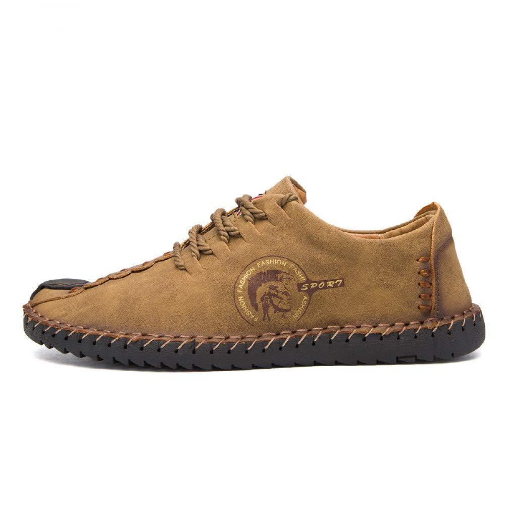 FHCGMX Bequeme beiläufige Stiefel Müßiggänger Männer Schuhe Qualität Split Schuhe Männer Wohnungen Mokassins Schuhe
