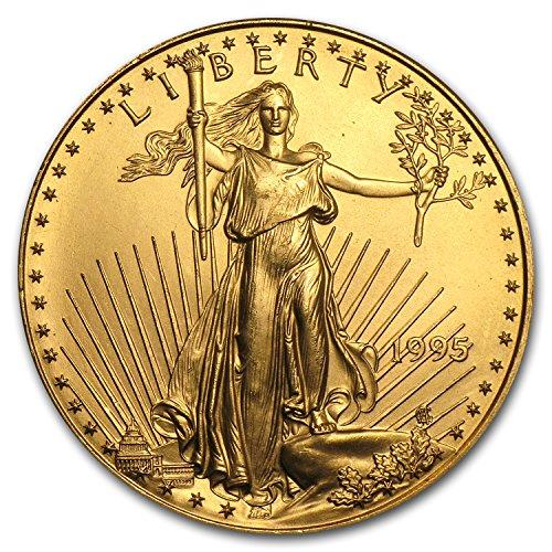 (1995 1 oz Gold American Eagle BU 1 OZ Brilliant Uncirculated)