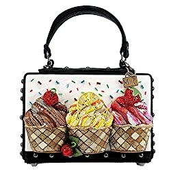Cupcake Theme Novelty Handbag