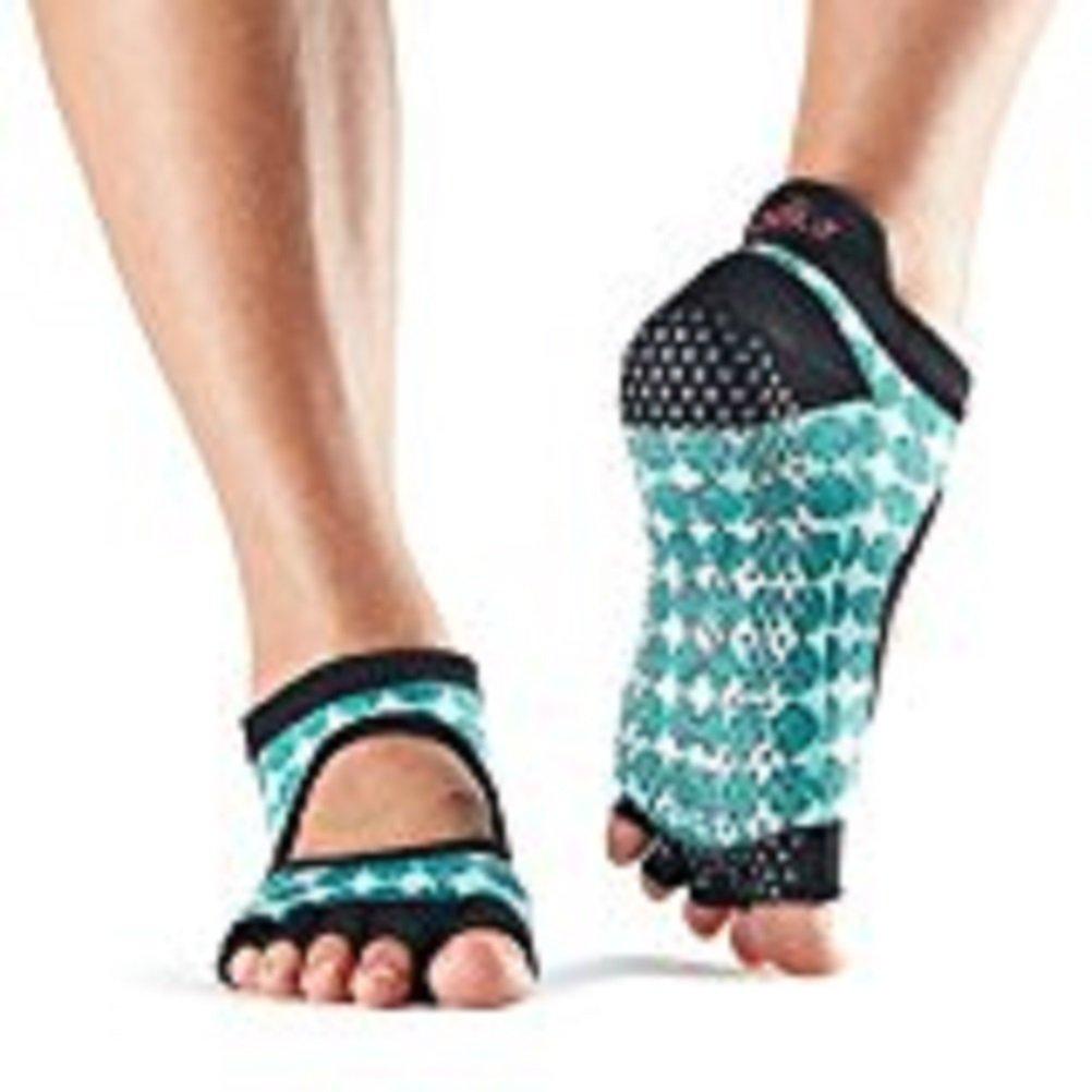 Toesox half toe Bellarina Yoga Socks, Unisex Adult