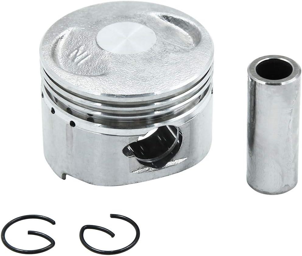 Sourcingmap Silver Tone Engine Part 43.5mm Motorcycle Piston Kit