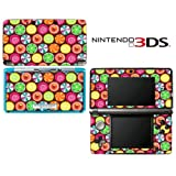 Candy Clover Strawberry Fruit Pattern Decorative Video Game Decal Cover Skin Protector for Nintendo 3Ds (not 3DS XL)