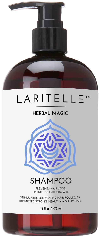 Laritelle Organic Unscented Hypoallergenic Shampoo 17.5 oz. Rosemary & Saw Palmetto. NO SLS/GMO/Parabens. GF by Laritelle