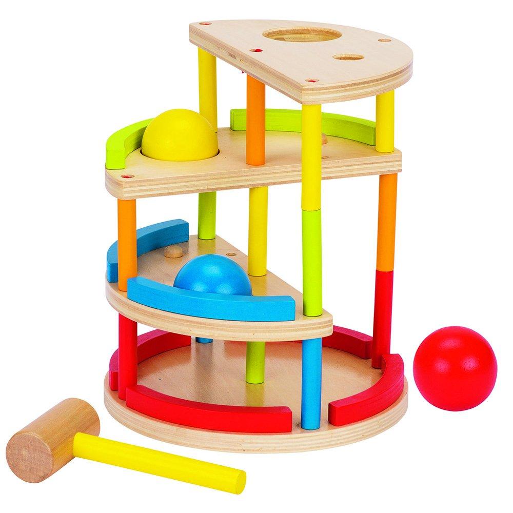 Goki Knocking Railway Baby Toy