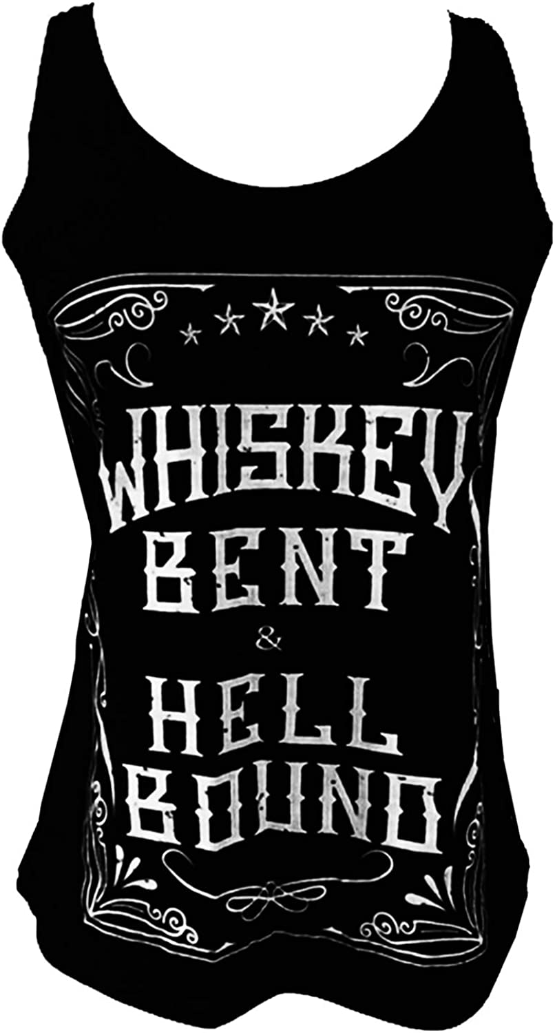 """TRAILS """"Whiskey Bent and Hell Bound Soft Tank Top"""