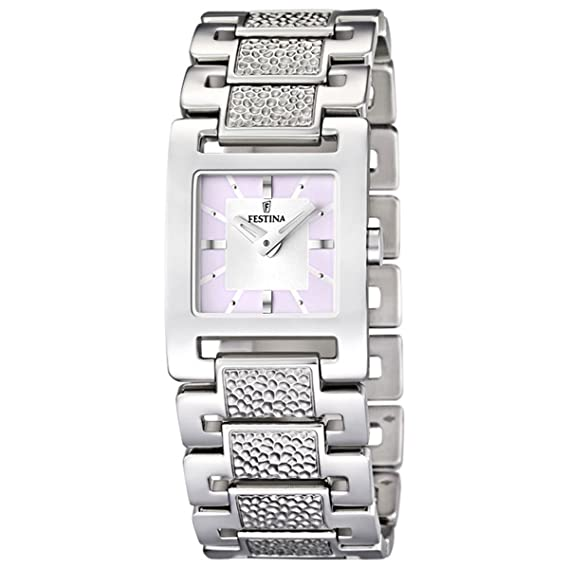 Festina de mujer reloj de pulsera XS analógico de cuarzo Acero inoxidable F16594/2