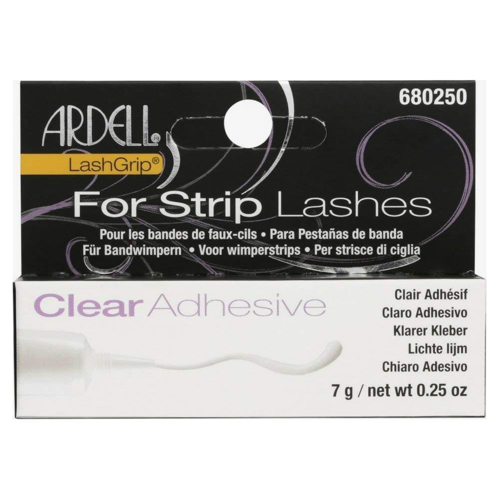 Ardell LashGrip Eyelash Adhesive, Clear 0.25 oz (Pack of 2)