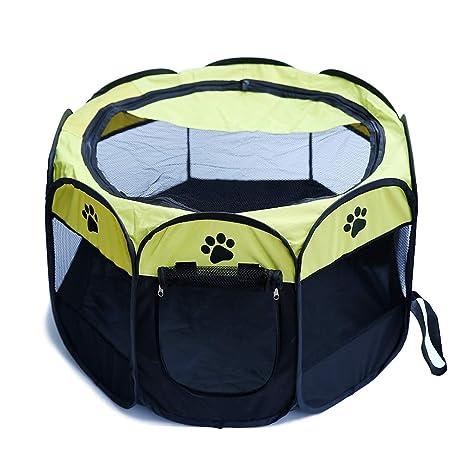 Yeying123 Mascota Perro Gato Parques para niños Jaula Cajón Suave ...