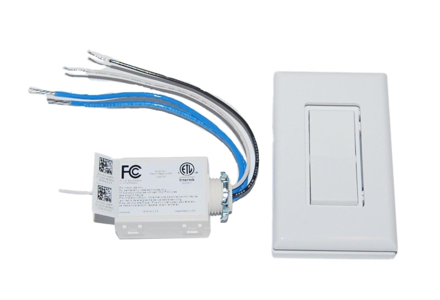 High Power Wireless Light Switch Kit - Voltage Range 100-277V