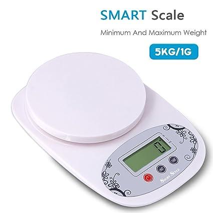 Smart Scale – Báscula de cocina electrónica cocina Báscula de precisión Mini joyas en casa Hornear