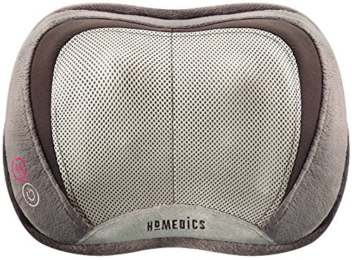 HoMedics SP-100H 3D Shiatsu and Vibration Massage Pillow with Heat (Homedic Shiatsu Massager)