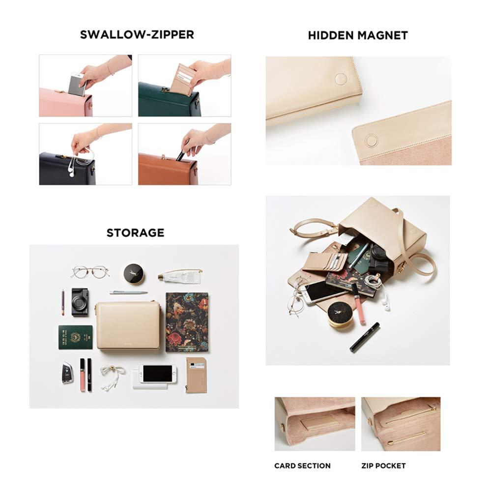 Amazon.com: Bolso de piel de vaca con diseño de amusa, de ...