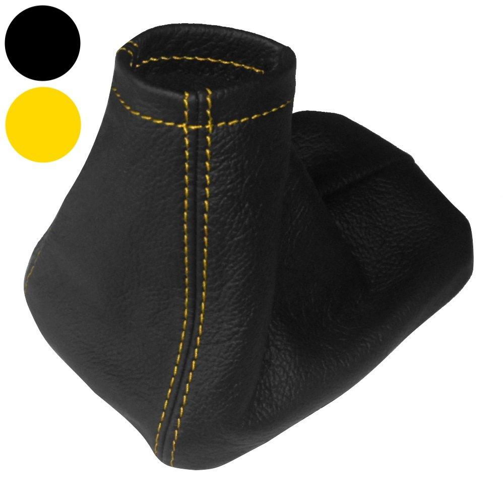 AERZETIX Couture//Surpiq/ûres Noires Soufflet de Levier de Vitesse en 100/% Cuir v/éritable
