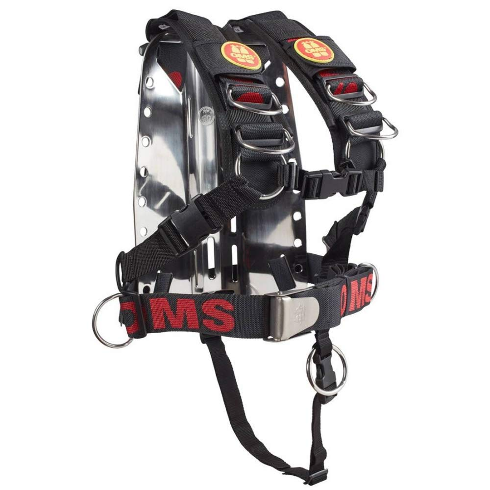 Amazon com : OMS SS Backplate w/Comfort Harness SS System II