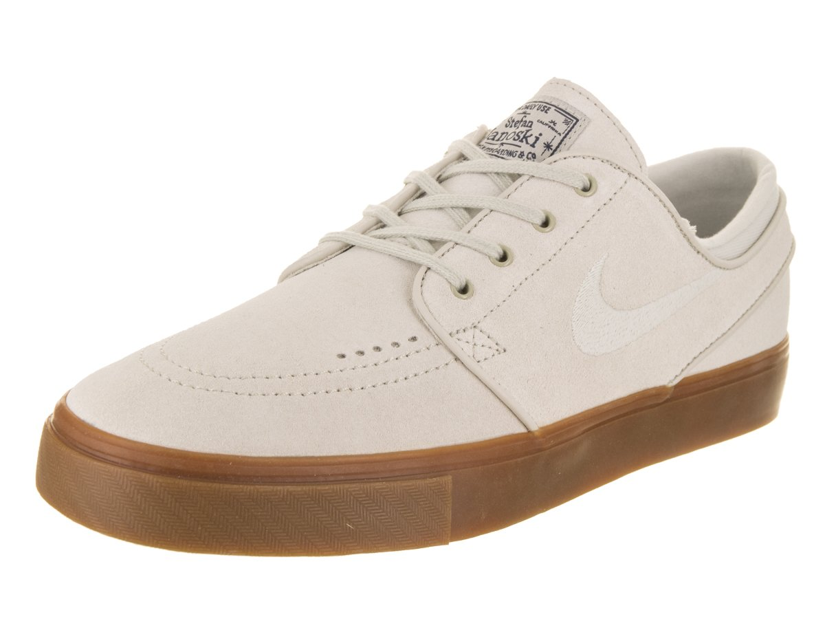 NIKE Men's Zoom Stefan Janoski Light Bone/Light Bone Skate Shoe 11.5 Men US
