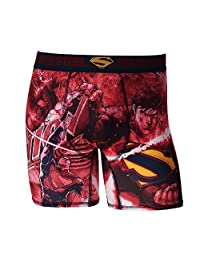 Briefly Stated mens Superman Boxer Briefs