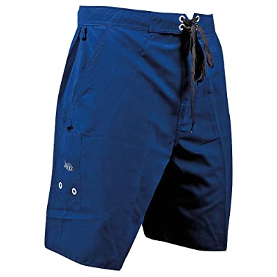 AFTCO Bluewater M07 Waterman Boardshort-Navy Blue