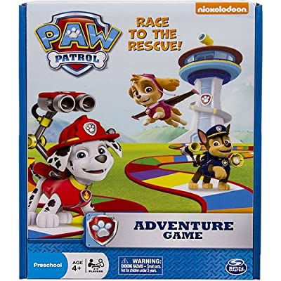 Spin Master Games Nickelodeon PAW Patrol Adventure Board Game: Toys & Games