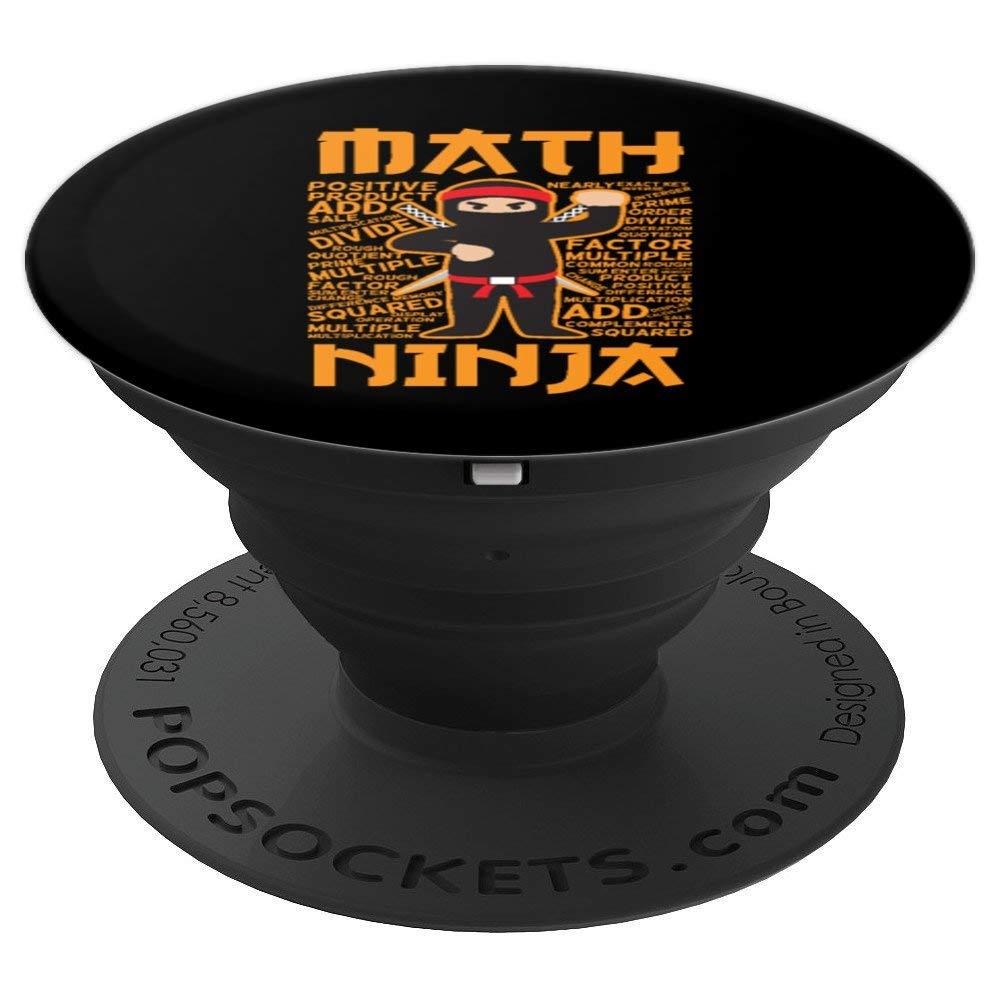 Amazon.com: Funny Math Ninja Gift Grip Idea For Maths ...