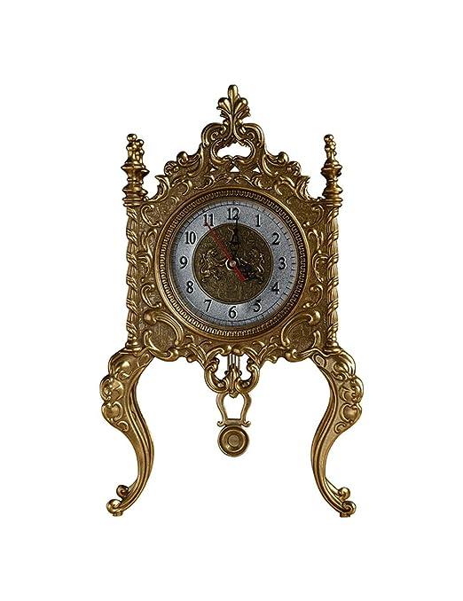 ZYear Reloj de Mesa Retro Europeo de Metal Creativo Reloj de ...