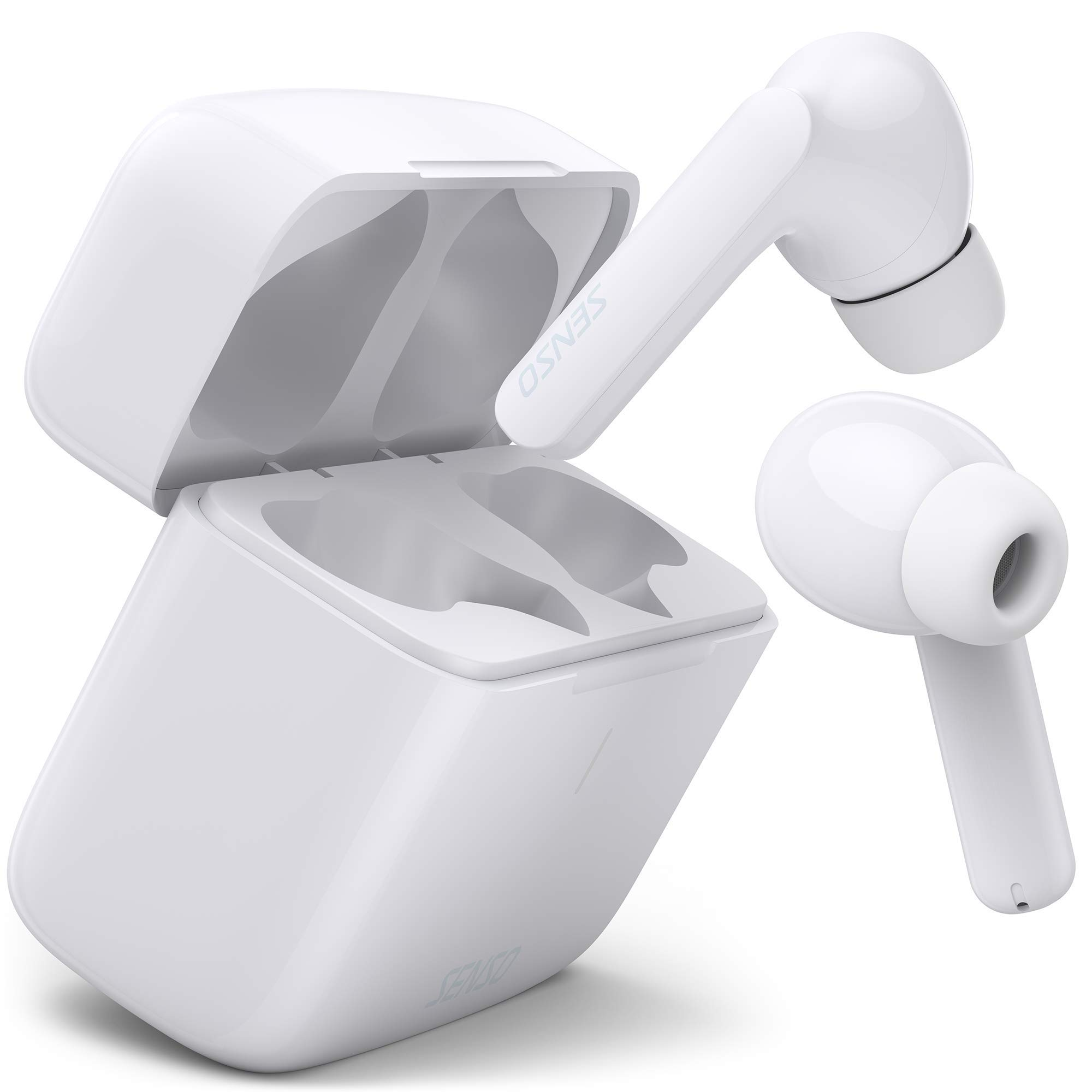 Auriculares Earbuds Inalambricos Senso White