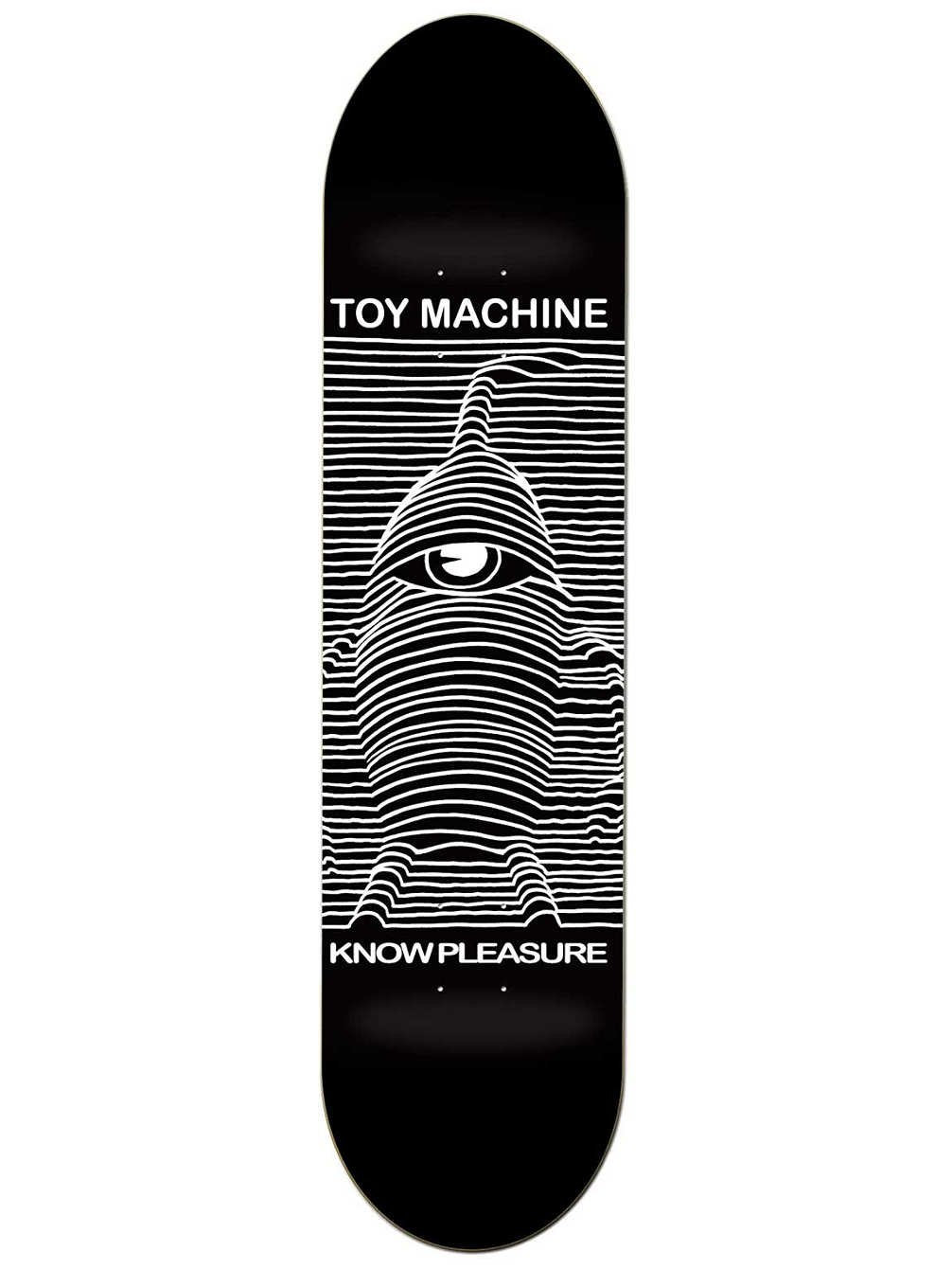 Toy Machine Skateboard Deck Toy Division 8.0 Skate Deck