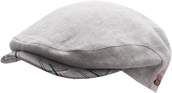 Herman - Boinas - gorra plana hombre Dean 420 - talla 62 cm - gris ...