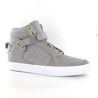 stile moderno scegli ufficiale data di rilascio: Adidas Adi Rise Mid Grey Leather Mens Trainers Size 8 UK: Amazon ...